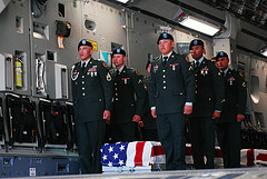 An solemn moment by The U.S. Army