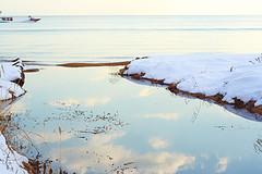 冬の琵琶湖, by hiromama