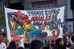 ブエノス・アイレスのプライドマーチ