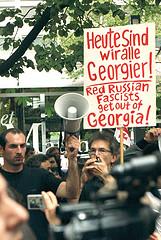 ベルリンのデモ