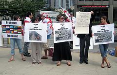 シカゴのデモ