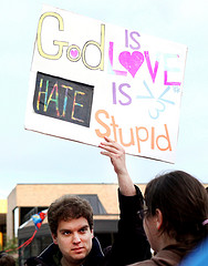 Westboro Baptist Church Protest 1 by JSmith Photo