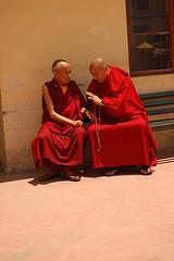 Monk meeting by Megan Garner