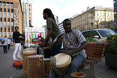 African drummers by wstryder