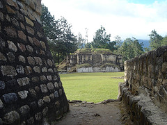 Ruins of Iximche, Guatemala, by BurocraciaNeuronal