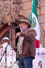 Javier #Sicilia 's Non Violence Speech I by Pepe Rivera