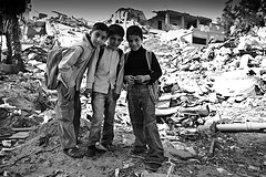 Kids, Gaza, by Marius Arnesen