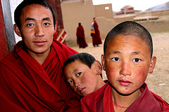 Kirti Monastery - Young Monks (2010) by c100tibet