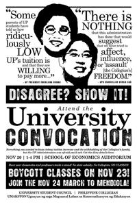 フィリピン大ストのポスター