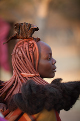 Himba woman by Julien Lagarde