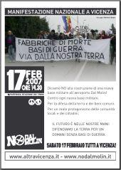No Dal Molin poster