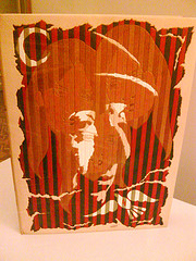 beautifully bound Pablo Neruda book, fundació joan march by Guy James