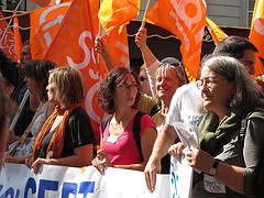 les manifestants, les slogans, l'ambiance by jbguerillot