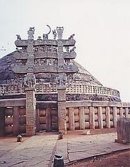 Sanchi Stupa by Sgrk