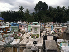 Santa Cruz Cemetery graves by molly+