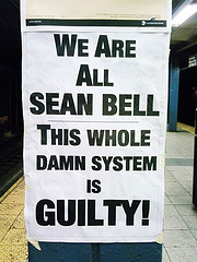 We Are All Sean Bell by clofresh