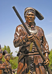 Seminole Indian bronze sculptures by readerwalker