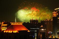 Shanghai Expo fireworks, by Noise 'n Kisses