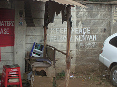 Keep Peace Fellow Kenyan, by Solo7