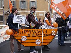 Roma. Manifestazione per gl immigrati. 17.10.2009.