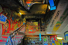 Tacheles staircase by The man with the golden cam