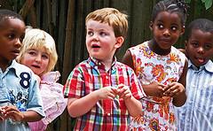 イギリスの子どもたち