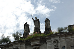 At the University of Santo Tomas Main Building by Katrina.Tuliao