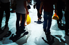 Yellow Bags, by moriza