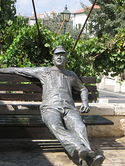 Statue in Zichron Ya'acov by israluv